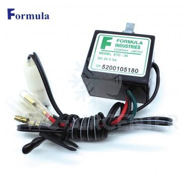 เทอร์โมไฟฟ้าหมุน 24v